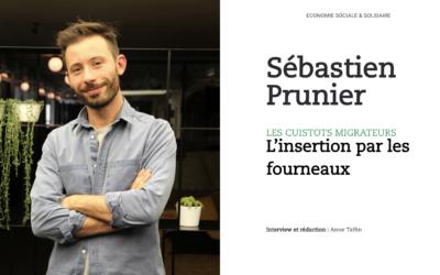 Sébastien Prunier, Les Cuistots Migrateurs : l'insertion par les fourneaux
