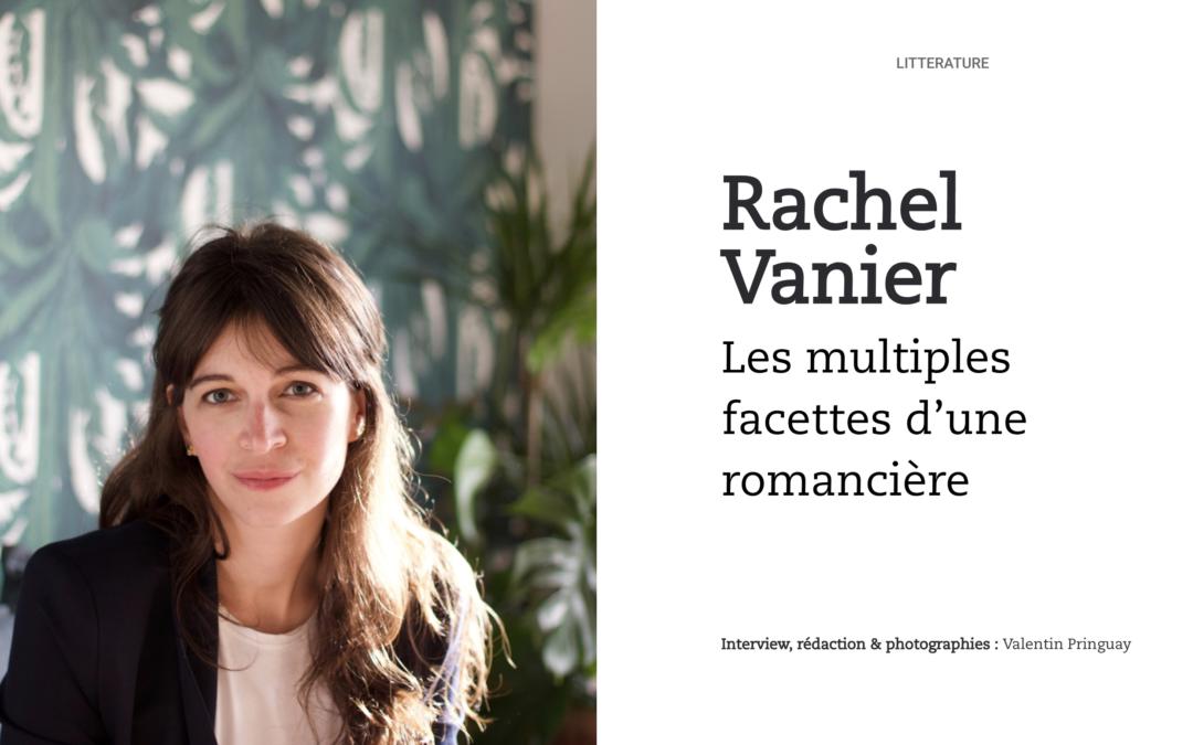 Rachel Vanier : les multiples facettes d'une romancière