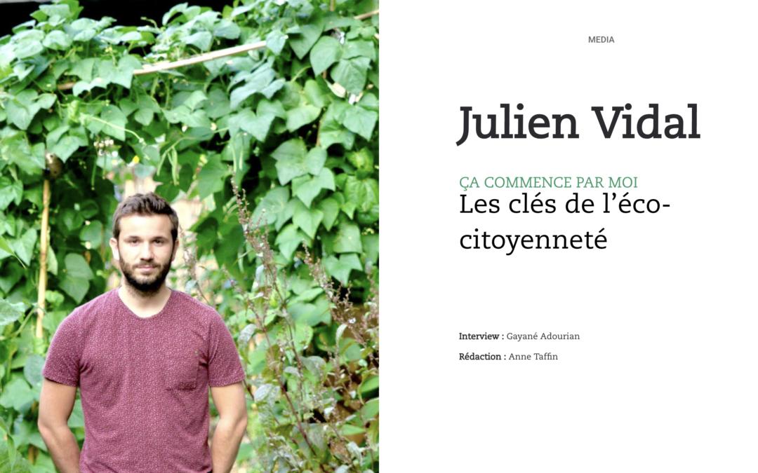Julien Vidal,Ça commence par moi : les clés de l'éco-citoyenneté