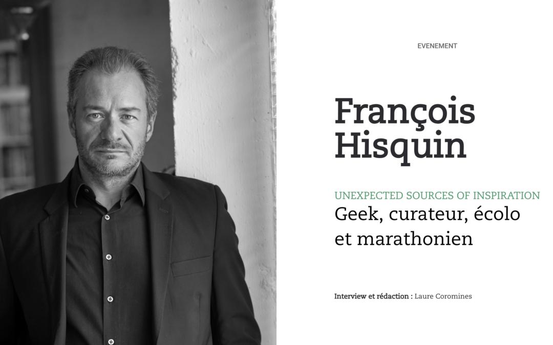 François Hisquin, Octo Technology & l'USI : geek, curateur, écolo et marathonien